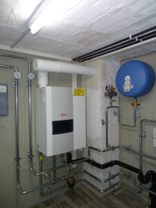 Gasheizung